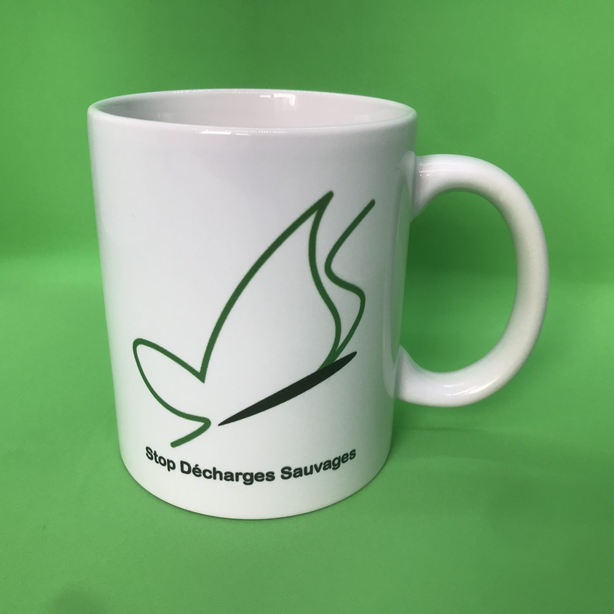 Mug Stop Décharges Sauvages face 1